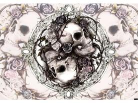 Fotobehang Alchemy Gothic | Crème | 416x254