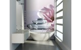 Fotobehang Papier Stenen | Paars, Roze | 184x254cm