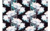 Fotobehang Vlies | Bloemen | Wit, Groen | 368x254cm (bxh)