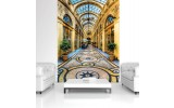 Fotobehang Papier Milan, Steden | Goud | 184x254cm
