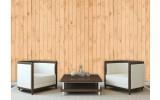 Fotobehang Hout | Crème | 104x70,5cm
