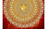 Fotobehang Vlies | Klassiek | Rood, Oranje | 368x254cm (bxh)