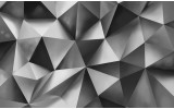 Fotobehang Vlies | Abstract, 3D | Grijs | 368x254cm (bxh)