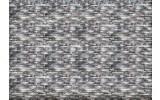 Fotobehang Vlies | Muur, Stenen | Grijs, Blauw | 368x254cm (bxh)