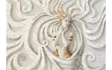 Fotobehang Vlies   Design, Vrouw   Goud   368x254cm (bxh)