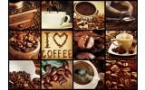 Fotobehang Vlies | Koffie, Keuken | Bruin | 368x254cm (bxh)