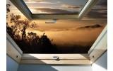 Fotobehang Vlies | Natuur, Raam | Bruin | 368x254cm (bxh)