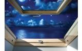 Fotobehang Vlies   Natuur, Nacht   Blauw   368x254cm (bxh)