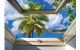 Fotobehang Vlies | Natuur, Palm | Groen | 368x254cm (bxh)