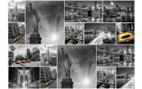 Fotobehang Vlies   New York   Zwart, Geel   368x254cm (bxh)