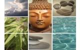 Fotobehang Vlies | Boeddha | Grijs | 368x254cm (bxh)