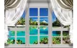 Fotobehang Vlies | Natuur, Zee | Blauw, Groen | 368x254cm (bxh)