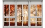 Fotobehang Vlies | Modern, Bos | Bruin  | 368x254cm (bxh)