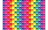 Fotobehang Vlies | Modern, Kleurrijk | Roze | 368x254cm (bxh)