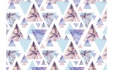 Fotobehang Vlies | Modern | Paars, Blauw | 368x254cm (bxh)
