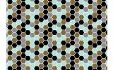 Fotobehang Vlies   Modern   Blauw, Grijs   368x254cm (bxh)