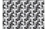 Fotobehang Vlies   Modern   Zwart, Grijs   368x254cm (bxh)