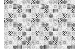 Fotobehang Vlies | Klassiek | Grijs, Zwart | 368x254cm (bxh)