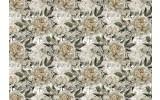 Fotobehang Vlies | Rozen | Grijs, Groen| 368x254cm (bxh)
