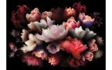 Fotobehang Vlies   Bloemen, Modern   Rood   368x254cm (bxh)