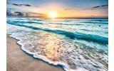Fotobehang Vlies   Zee   Blauw, Geel   368x254cm (bxh)