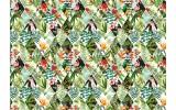 Fotobehang Vlies | Kleurrijk | Groen, Geel | 368x254cm (bxh)