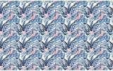 Fotobehang Vlies | Modern | Blauw, Wit| 368x254cm (bxh)