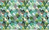 Fotobehang Vlies | Cactus, Modern | Groen | 368x254cm (bxh)