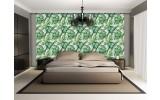 Fotobehang Vlies | Slaapkamer, Modern | Groen | 368x254cm (bxh)