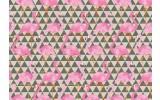 Fotobehang Vlies | Modern, Flamingo | Roze | 368x254cm (bxh)