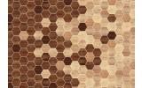 Fotobehang Vlies | Modern, Woonkamer | Bruin | 368x254cm (bxh)