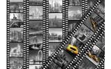 Fotobehang Vlies   New York   Geel, Zwart   368x254cm (bxh)