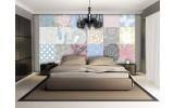 Fotobehang Vlies | Modern | Grijs, Roze | 368x254cm (bxh)