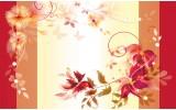 Fotobehang Vlies   Bloemen   Geel   368x254cm (bxh)