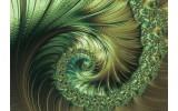 Fotobehang Vlies | Abstract, Modern | Groen | 368x254cm (bxh)