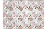 Fotobehang Vlies | Vogels | Wit, Roze | 368x254cm (bxh)