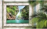 Fotobehang Natuur | Groen, Grijs | 312x219cm