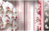 Fotobehang Bloemen, Orchideeën | Roze | 416x254
