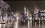 Fotobehang Vlies | Stad | Grijs | 368x254cm (bxh)