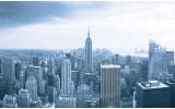 Fotobehang New York | Grijs | 416x254