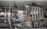 Fotobehang Rome, Stad | Grijs | 152,5x104cm