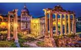Fotobehang Papier Rome, Stad | Geel | 254x184cm