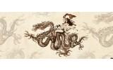 Fotobehang Alchemy Gothic   Bruin   250x104cm