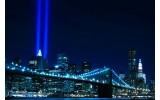 Fotobehang New York | Blauw | 152,5x104cm