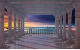 Fotobehang Zee | Blauw | 104x70,5cm