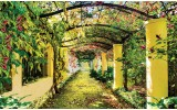 Fotobehang Natuur | Geel, Groen | 152,5x104cm