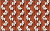 Fotobehang Bloemen, Orchidee | Oranje | 416x254