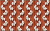 Fotobehang Vlies   Bloemen, Orchidee   Oranje   368x254cm (bxh)
