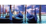 Fotobehang Venetië, Stad | Blauw, Groen | 250x104cm