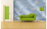 Fotobehang Abstract | Blauw, Grijs | 208x146cm